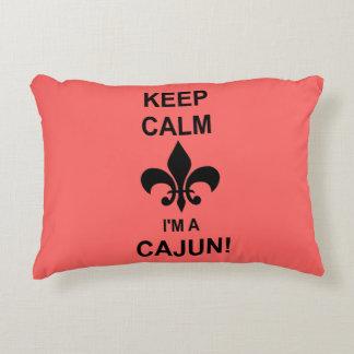 Keep Calm, I'm a Cajun Louisiana Pillow