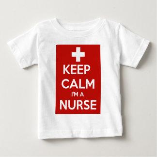 KEEP CALM I'M A NURSE BABY T-Shirt