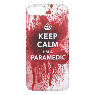 Keep Calm I'm a Paramedic iPhone 7 case