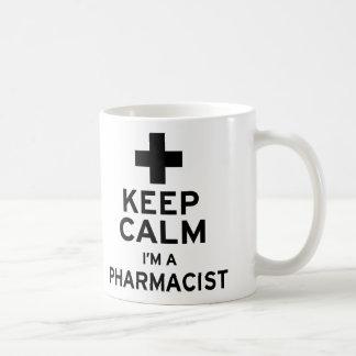 Keep Calm, I'm a Pharmacist Coffee Mug