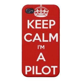 KEEP CALM I'M A PILOT iPhone4 Case iPhone 4/4S Cover