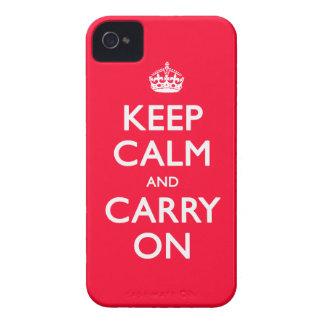 Keep Calm iPhone 4 Case