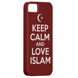 Keep Calm Islam iPhone 5 Cases