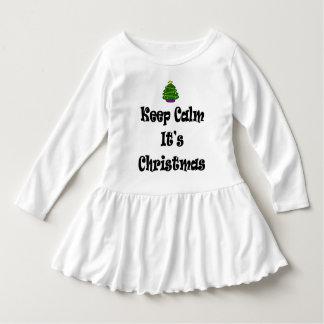 Keep Calm Its Christmas and Tree Dress