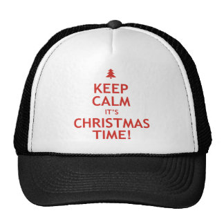 Keep Calm It's Christmas Time Cap