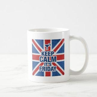 Keep Calm Its Friday Mug