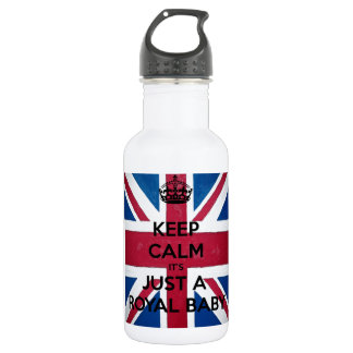 KEEP CALM IT'S JUST A ROYAL BABY 532 ML WATER BOTTLE