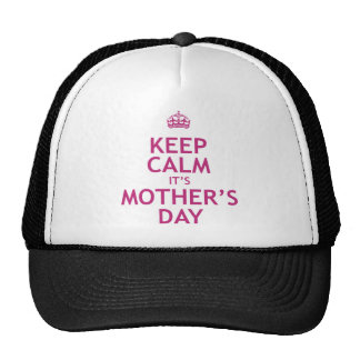 Keep Calm it's Mother's Day Mesh Hat