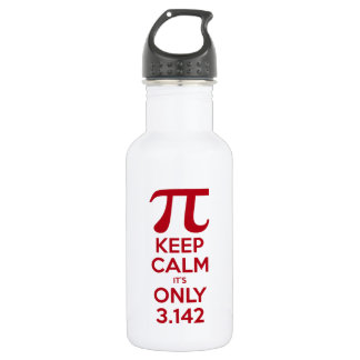 Keep Calm It's Only Pi 532 Ml Water Bottle