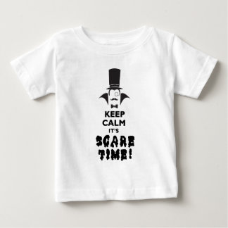 Keep calm it's scare time baby T-Shirt