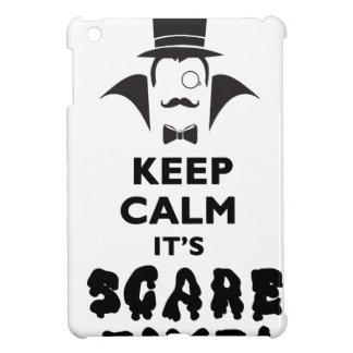 Keep calm it's scare time iPad mini covers
