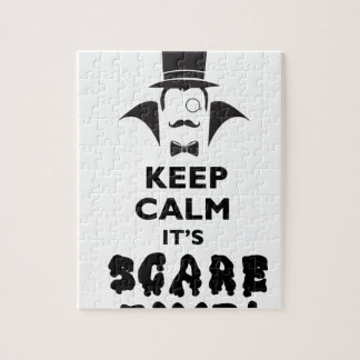 Keep calm it's scare time jigsaw puzzle