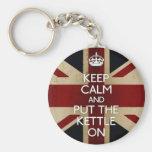 Keep Calm Keychains