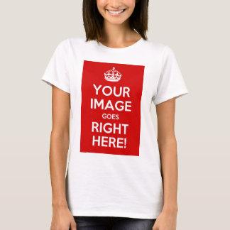 Keep Calm Ladies Babydoll T T-Shirt