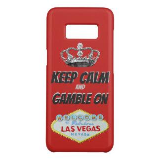 Keep Calm Las Vegas Good Luck Case-Mate Samsung Galaxy S8 Case