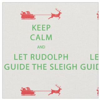 Keep Calm Let Rudolph Guide The Sleigh
