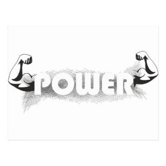 Keep Calm Lift Lifting Train Weight Run Jog Gym PT Postcard
