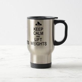 Keep Calm & Lift Weights mug - choose style
