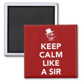 Keep Calm Like A Sir Magnet
