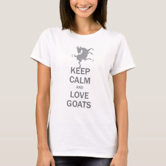 Keep Calm Love Goats T-Shirt
