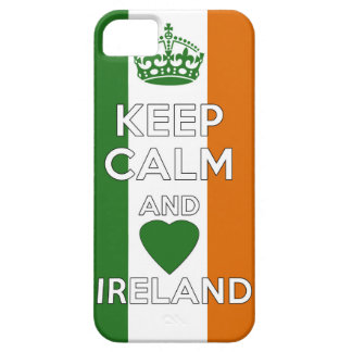 Keep Calm & Love Ireland Barely There iPhone 5 Case