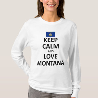 Keep calm love montana T-Shirt
