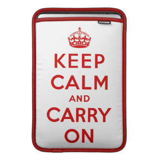 Keep Calm Macbook Air Sleeve
