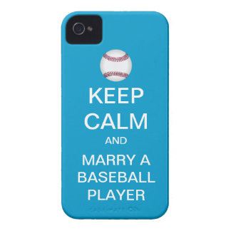 KEEP CALM Marry A Baseball Player iPhone 4 Case