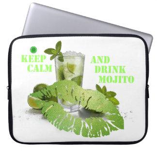 Keep Calm Mojito Laptop Computer Sleeve