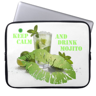 Keep Calm Mojito Laptop Sleeve