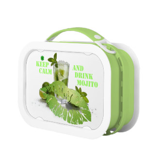 Keep Calm Mojito Lunch Boxes