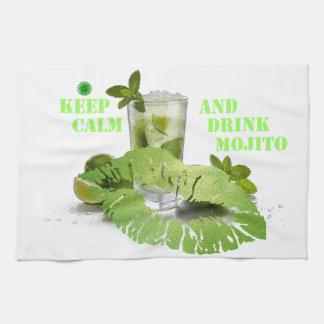 Keep Calm Mojito Tea Towel