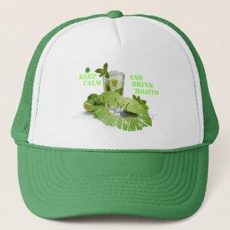 Keep Calm Mojito Trucker Hat
