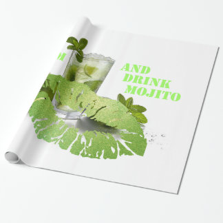 Keep Calm Mojito Wrapping Paper