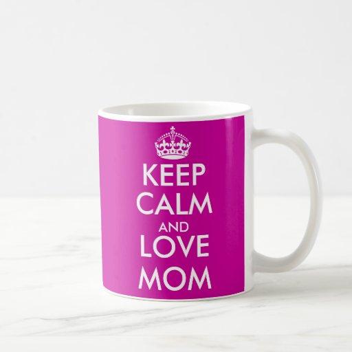 Keep Calm Mug for mom | Mother's Day gift idea
