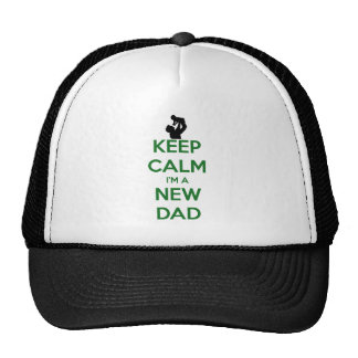 Keep Calm New Dad! Cap