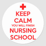 Keep Calm Nursing Stickers