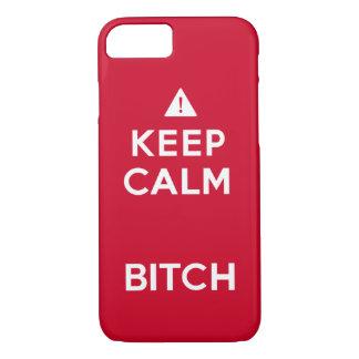 Keep Calm Parody Funny iPhone Case