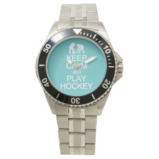 Keep Calm & Play Hockey watches