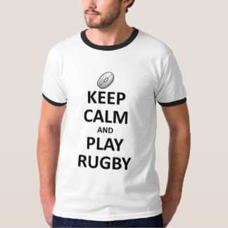 Keep Calm Play Rugby T-Shirt