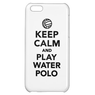 Keep calm play Water Polo iPhone 5C Covers
