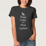 Keep Calm & Price Carbon Ladies T-shirt