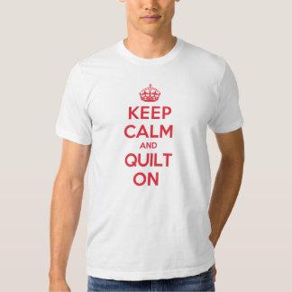 Keep Calm Quilt T Shirts
