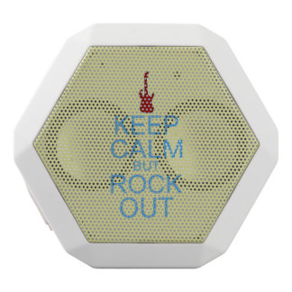 Keep Calm Rock Out – Parody -- Beige Background