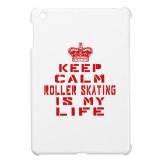 Keep calm Roller Skating is my life iPad Mini Cover