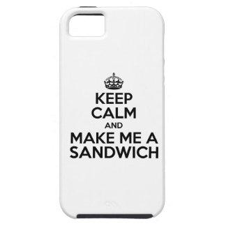 Keep Calm Sandwich iPhone 5 Case