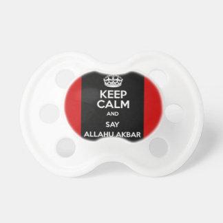 Keep Calm Say Allahu Akbar Dummy