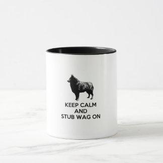 Keep Calm Schipperke Mug