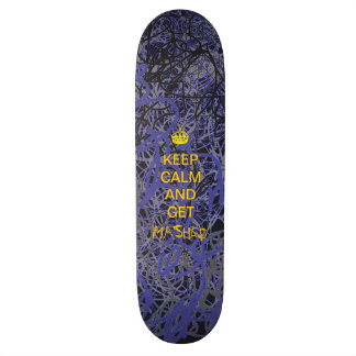 keep calm skateboard