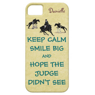 Keep Calm, Smile Big Equestrian Case For The iPhone 5